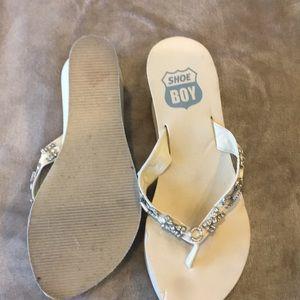 d02095662d40 shoe boy Shoes - Beautiful Wedding platform 3 1 4 inch flip flops